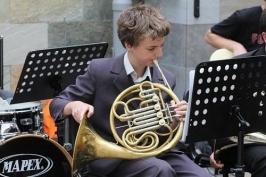 Orkiestra w Galerii Piastów_5