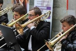 Orkiestra w Galerii Piastów
